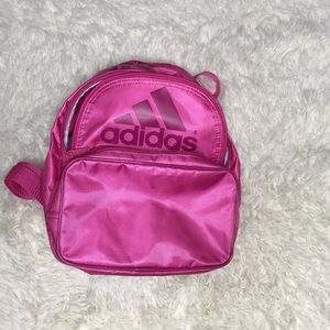 Adidas pink mini backpack